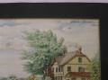 f cahnbley postkarte als aquarell um 1900. Black Bedroom Furniture Sets. Home Design Ideas