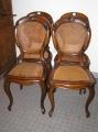 st hle louis philippe um 1860 in nu baum. Black Bedroom Furniture Sets. Home Design Ideas