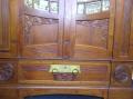 b cherschrank jugendstil um 1910 in nu baum. Black Bedroom Furniture Sets. Home Design Ideas