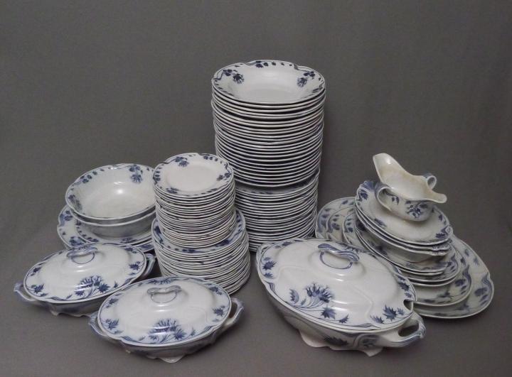 110-teiliges Keramik Speise-Service, Villeroy & Boch - Mettlach ...